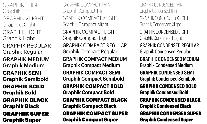 Graphik Font Free