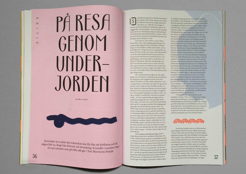 Revy magazine spread